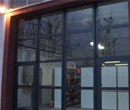 Usi industriale pliante vitrate mod. GLASS DOOR II